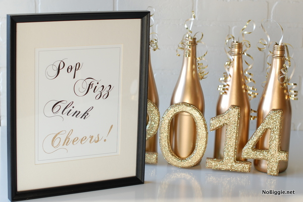 Free printable for New Year's Eve - NoBiggie.net