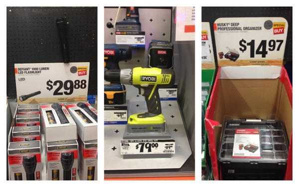 Great gift ideas for him at The Home Depot