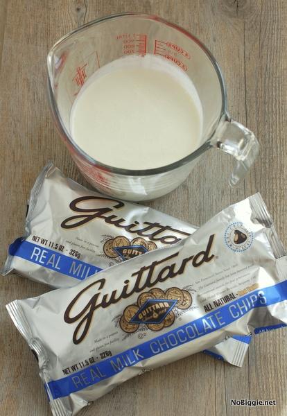Hot Chocolate ganache | NoBiggie.net