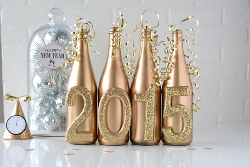NYE 2015 decor | NoBiggie.net