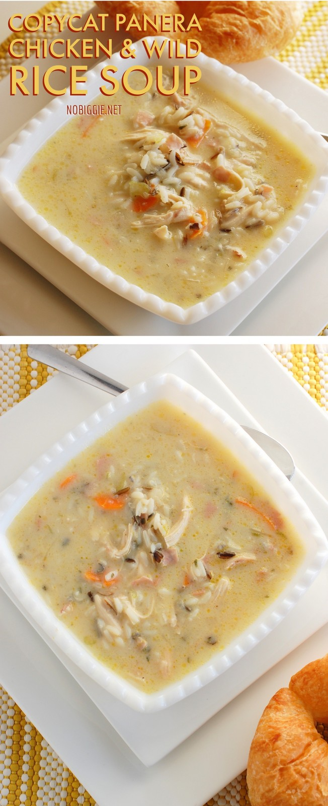 CopyCat Chicken and wild rice soup | NoBiggie.net
