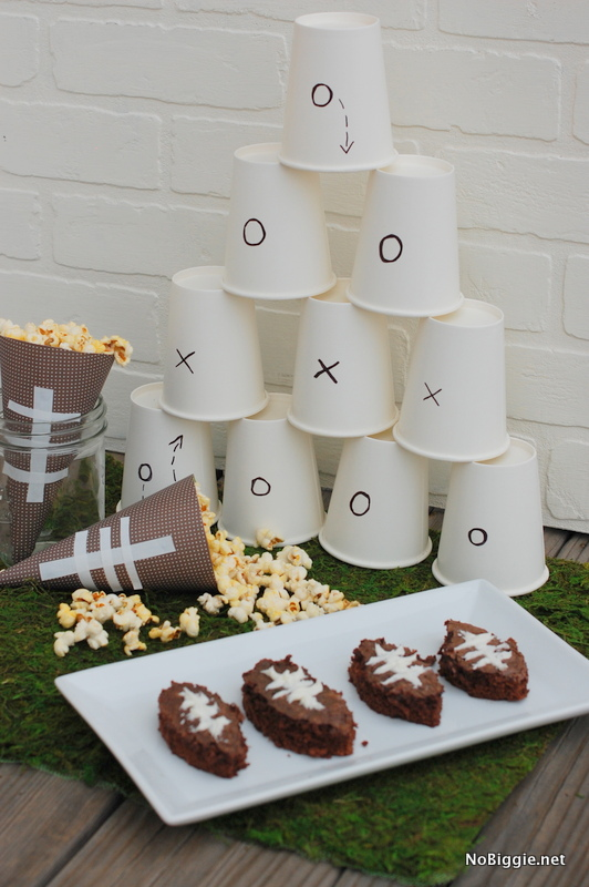 DIY Football party decor | NoBiggie.net
