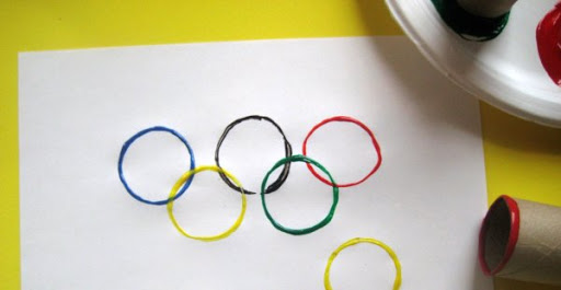 Olympics kid crafts
