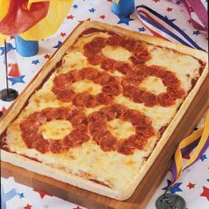 Olympics pizza