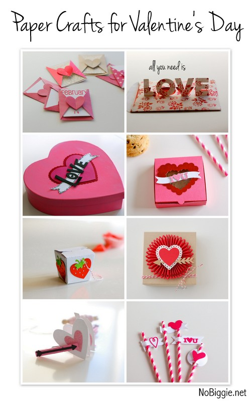 Paper craft ideas for Valentine's Day