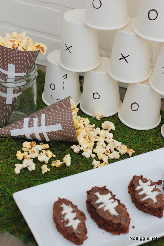 Superbowl party decor - NoBiggie.net