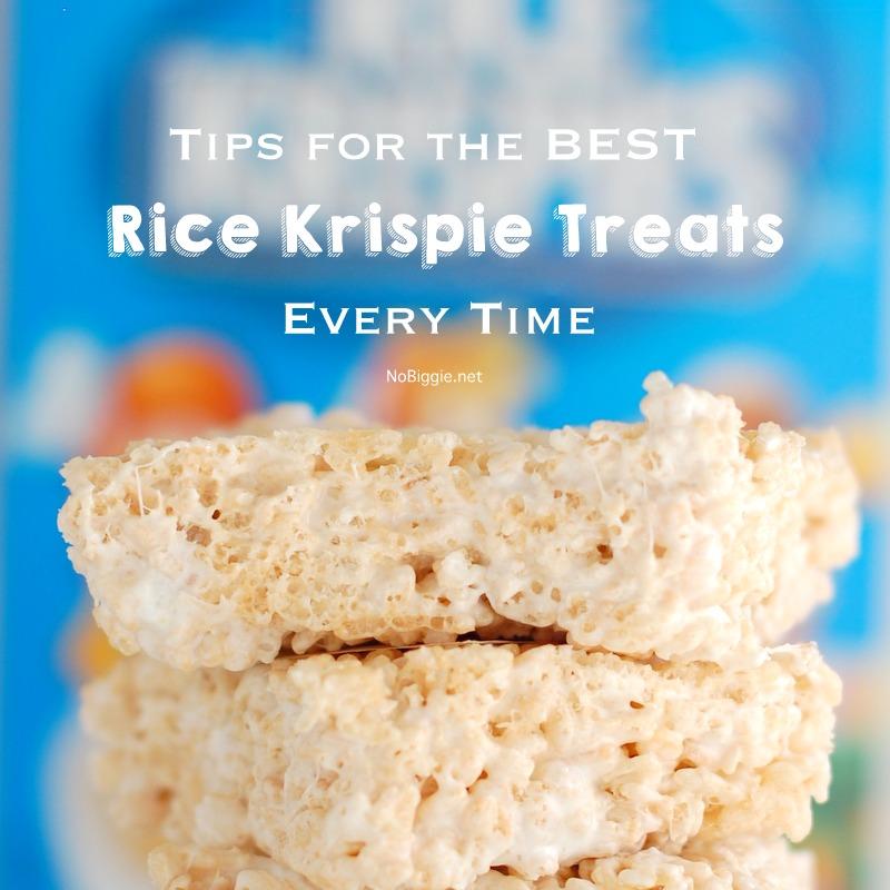 The BEST rice krispie treats every time! | NoBiggie.net