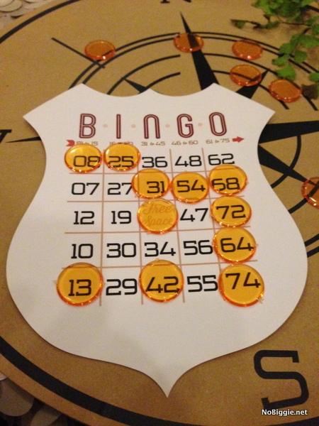 bingo at the Cricut Explore launch party