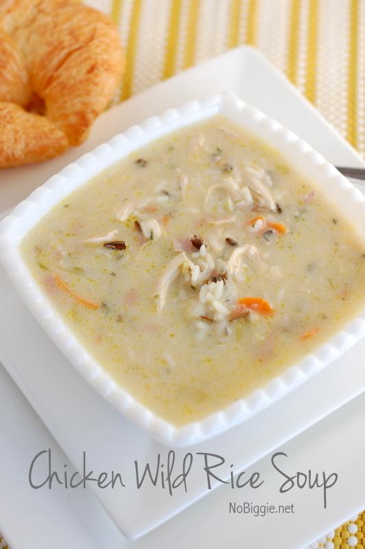 chicken wild rice soup recipe   NoBiggie.net