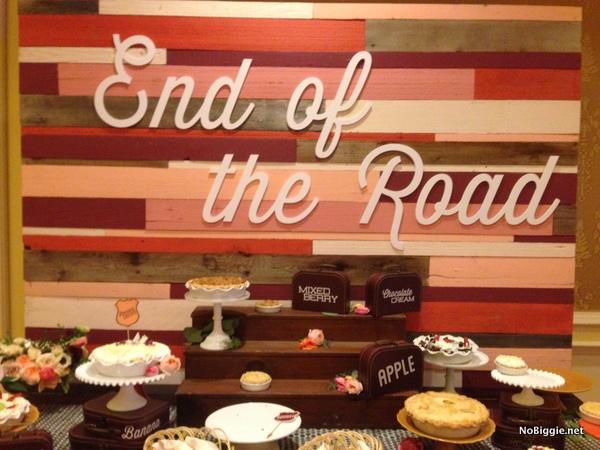 desserts table at the Cricut Explore launch party