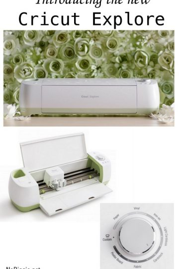 Introducing The New Cricut Explore Machine