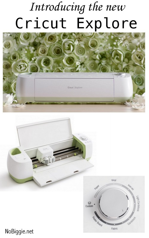 introducing the new Cricut Explore - read all about it on NoBiggie.net