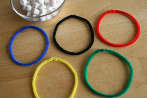 kid friendly Olympic crafts and games