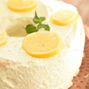 lemon angel food cake | NoBiggie.net