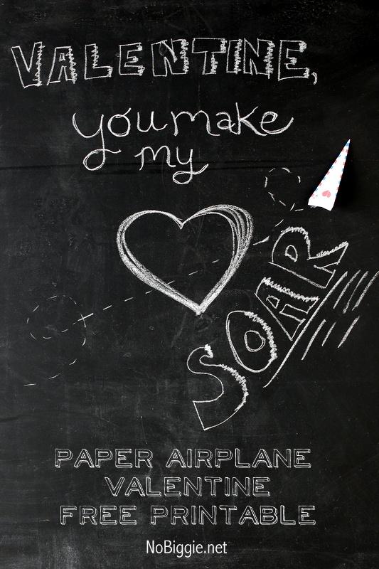 paper airplane valentine | NoBiggie.net
