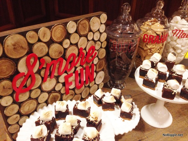 smores brownies at the Cricut Explore launch party