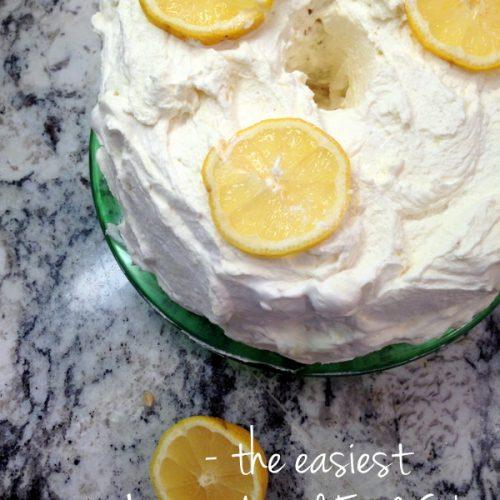 The easiest lemon angel food cake forumfinder Gallery