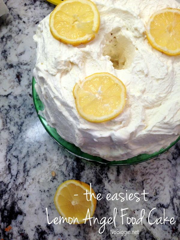 The easiest lemon angel food cake the easiest lemon angel food cake recipe nobiggie forumfinder Images