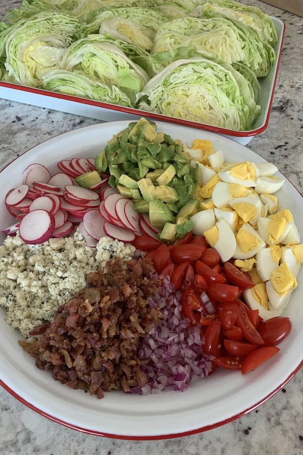 wedge salad bar toppings   NoBiggie.net
