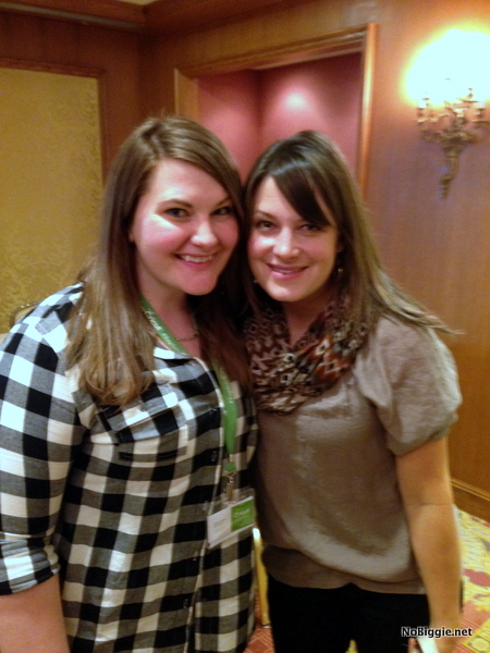 with Mallie at the Cricut Explore launch party