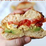 The Best Breakfast Bagel Sandwich