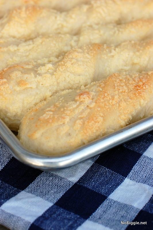 Parmesan Breadstick recipe | NoBiggie.net