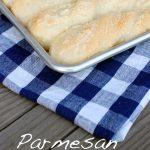 Parmesan Breadsticks - big soft, fluffy and cheesy