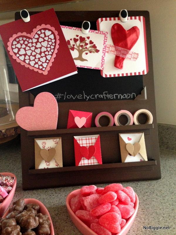 Valentine's Day crafternoon ideas - 2 - NoBiggie.net