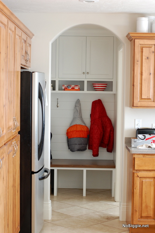 before and after mudroom | NoBiggie.net