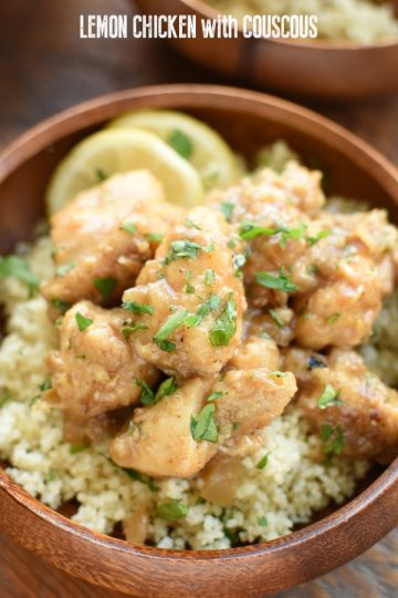 Lemon Chicken with Couscous