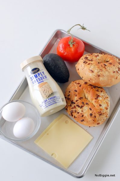 everything you need for the best breakfast bagel sandwich | NoBiggie.net