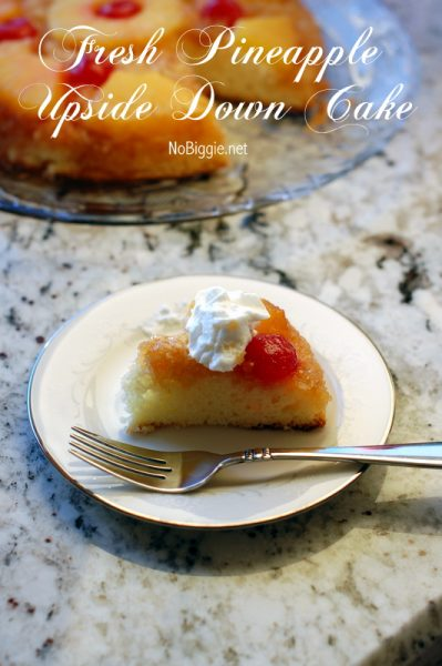 Easy Pineapple Upside Down Cake With Fresh Pineapple No Juice