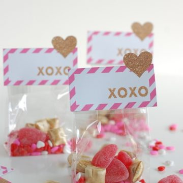 pop up heart Valentine Printable | NoBiggie.net