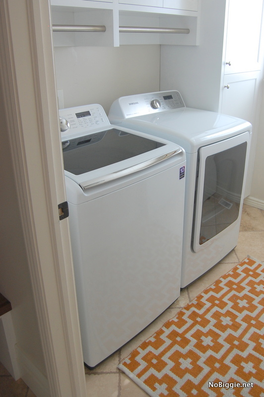 Laundry room and mudroom before and after - Washing machines for small spaces photos ...
