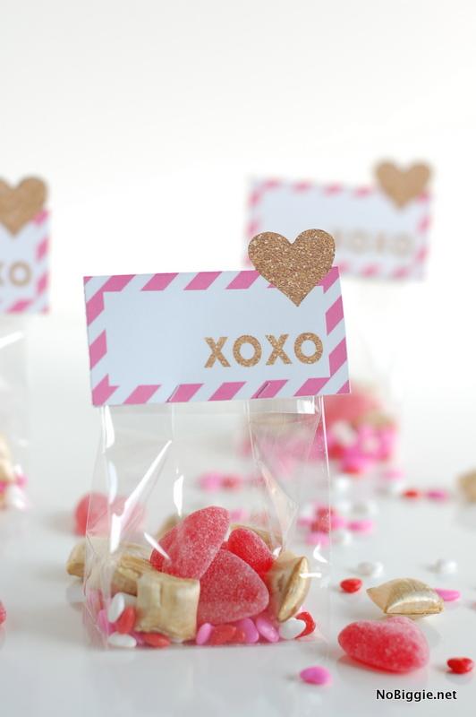 xoxo Valentines (free printable) - NoBiggie.net