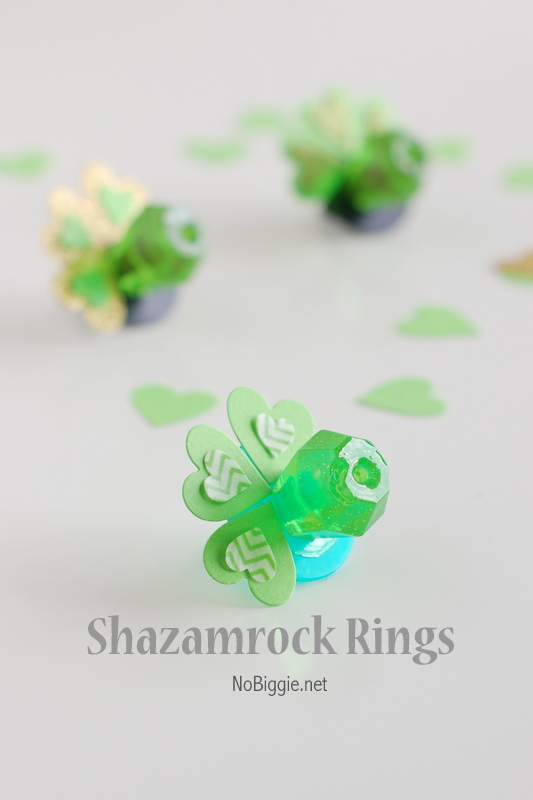 DIY Shazam rock rings - NoBiggie.net