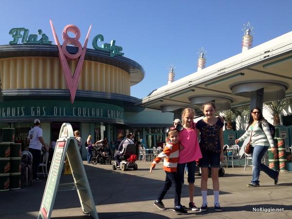 Flo's Cafe - Disneyland 2014 trip - NoBiggie.net