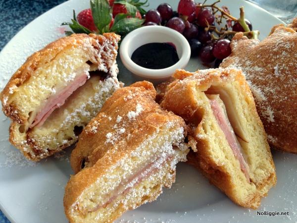 Monte Cristo Sandwich at DisneyLand - NoBiggie.net
