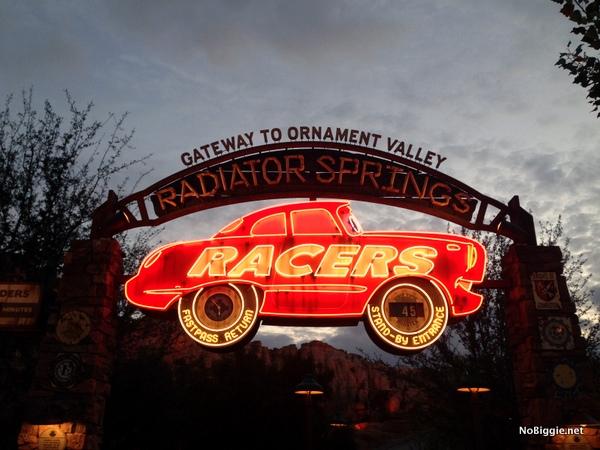 Radiator Springs Racers -Disneyland 2014 trip - NoBiggie.net