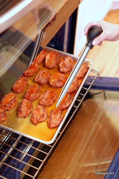 basting the ham rolls | NoBiggie.net