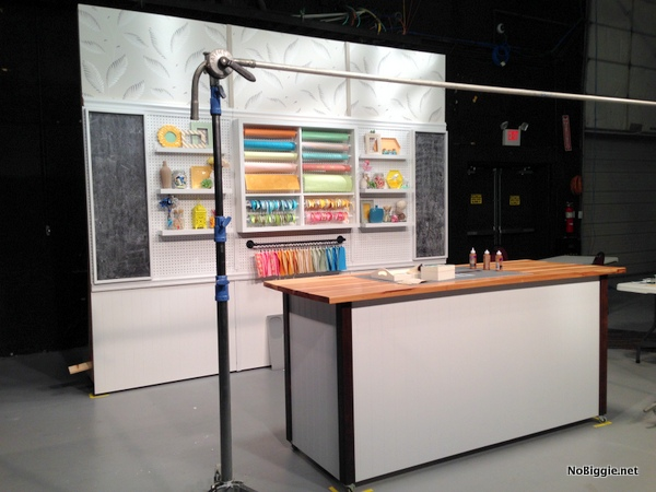 behind the scenes of HGTV crafternoon