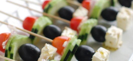 greek salad on a stick - NoBiggie.net
