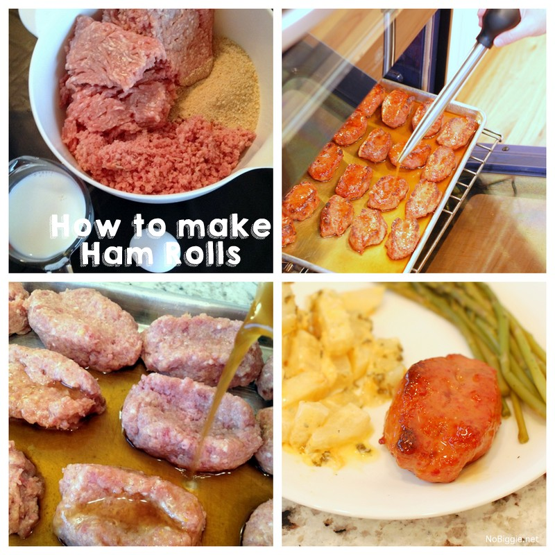 how to make Ham Rolls | these are so good! | NoBiggie.net