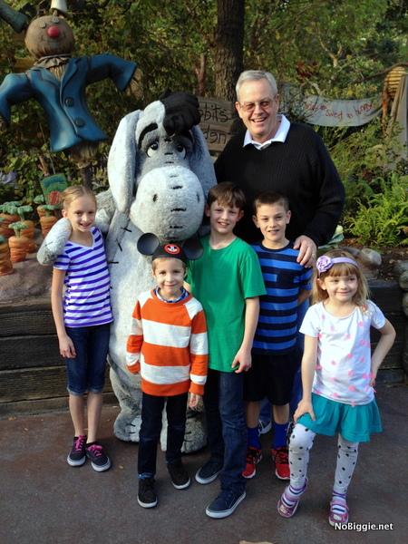 with Eyore - Disneyland 2014