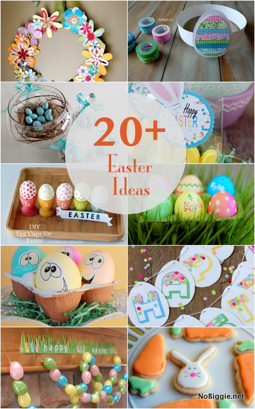 20+ Spring and Easter Ideas | NoBiggie.net