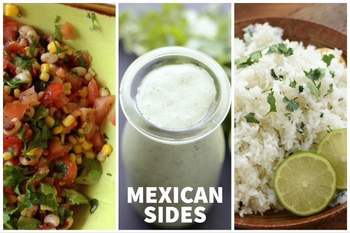 Mexican Food Side Dishes | NoBiggie.net