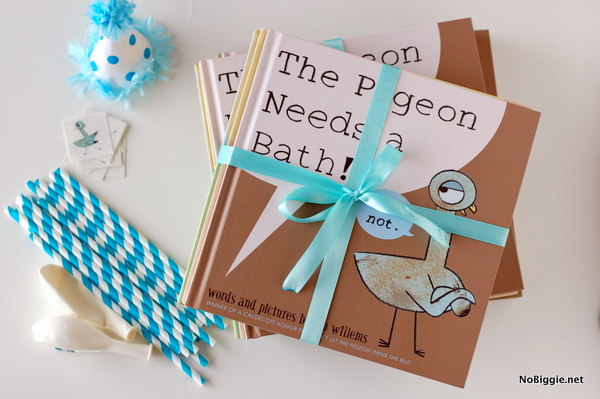 The Pigeon Needs a Bath (party ideas) - Nobiggie.net