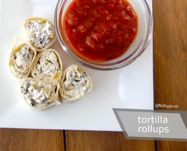 Tortilla Rollups | NoBiggie.net