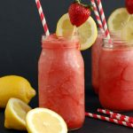 strawberry lemonade slush | NoBiggie.net