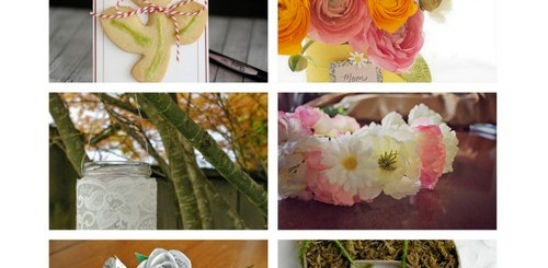 10 DIY floral gifts for Mother's Day | NoBiggie.net #mothers_Day_gift_ideas